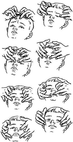 Массаж лица для неврит лицевого нерва