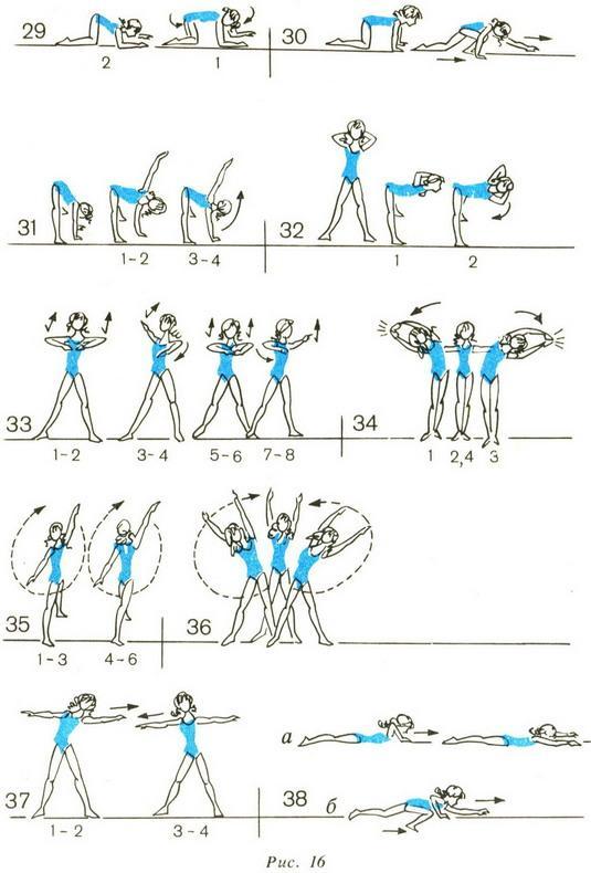 Детская гимнастика для спины.